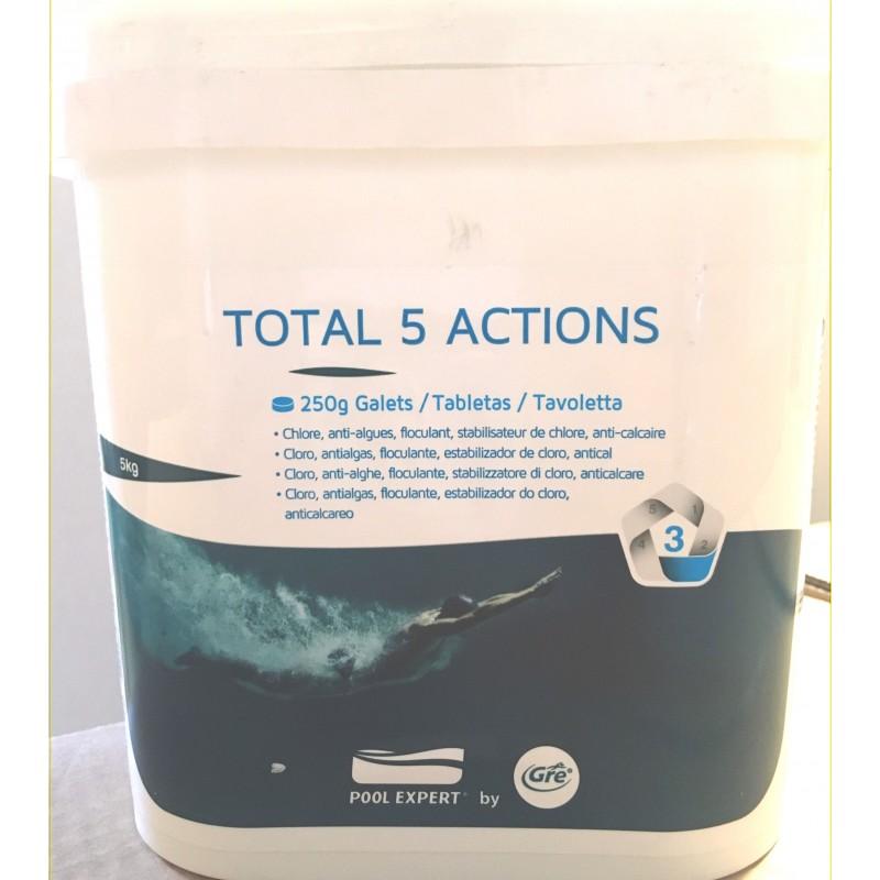 Multifunzione per piscina total 5 in 1 gre da 5 kg san marco - Pastiglie piscina ...