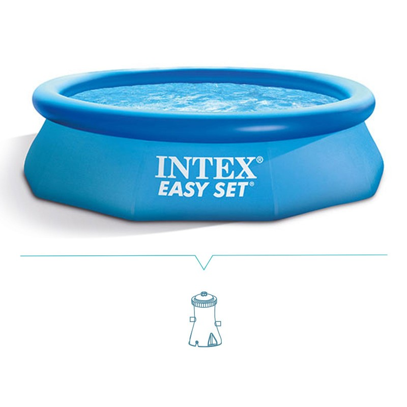 Piscina intex easy set 305x76 cm mod 28122 san marco for Piscina intex easy set