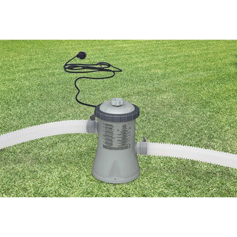 Pompa per piscine intex con filtro a cartuccia san marco for Pompa x laghetto con filtro