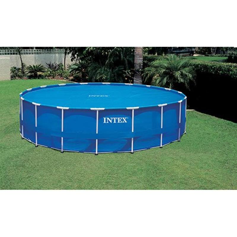 Telo copertura intex piscine rotonde easy set 549 cm san - Copertura invernale piscina intex ...