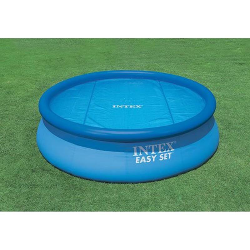 Telo copertura intex piscine rotonde easy set 549 cm san for Teli invernali per piscine intex