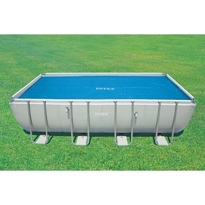 Telo di copertura intex per piscine frame fino a 732 cm san marco - Telo copertura piscina intex ...