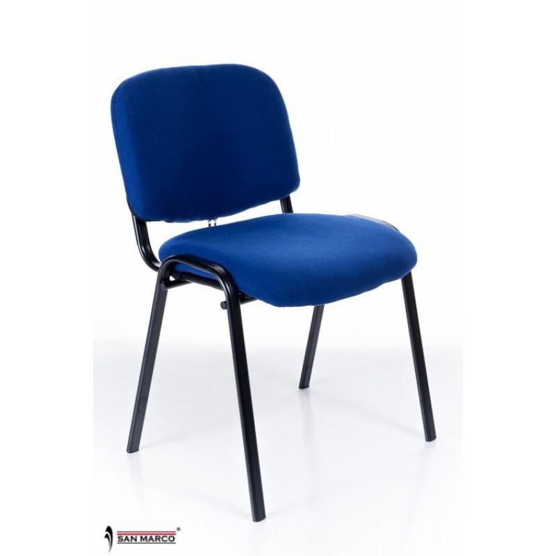 Sedie per sala da attesa o convegni blue chair san marco for Sedie economiche per ufficio