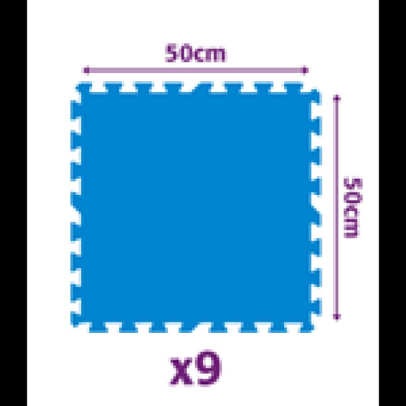 Tappeto sottopiscina modulare 2 25 mq 9 pezzi san marco - Tappeto sottopiscina ...