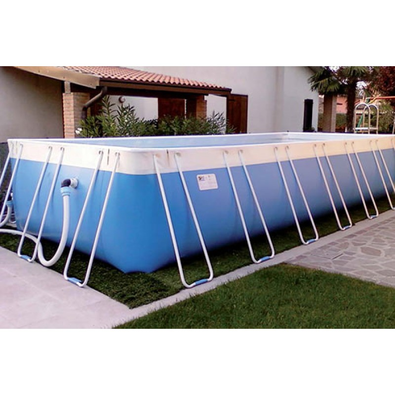 piscina fuori terra oasi marina 355x260x120 cm san marco