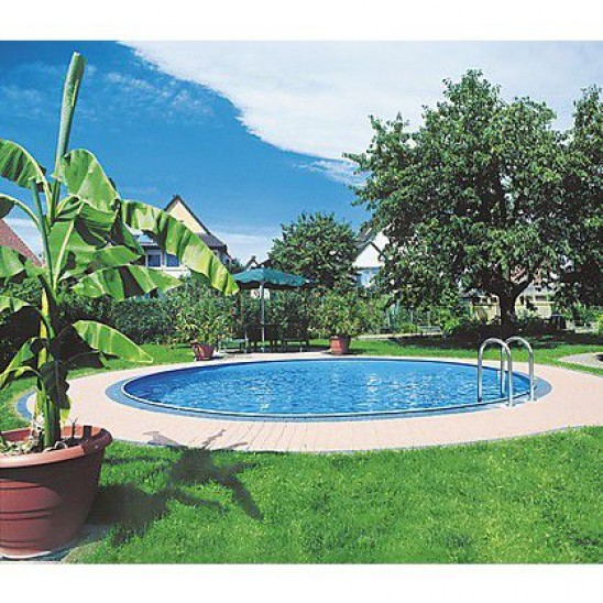 Piscina interrata Starpool rotonda 550x150 cm