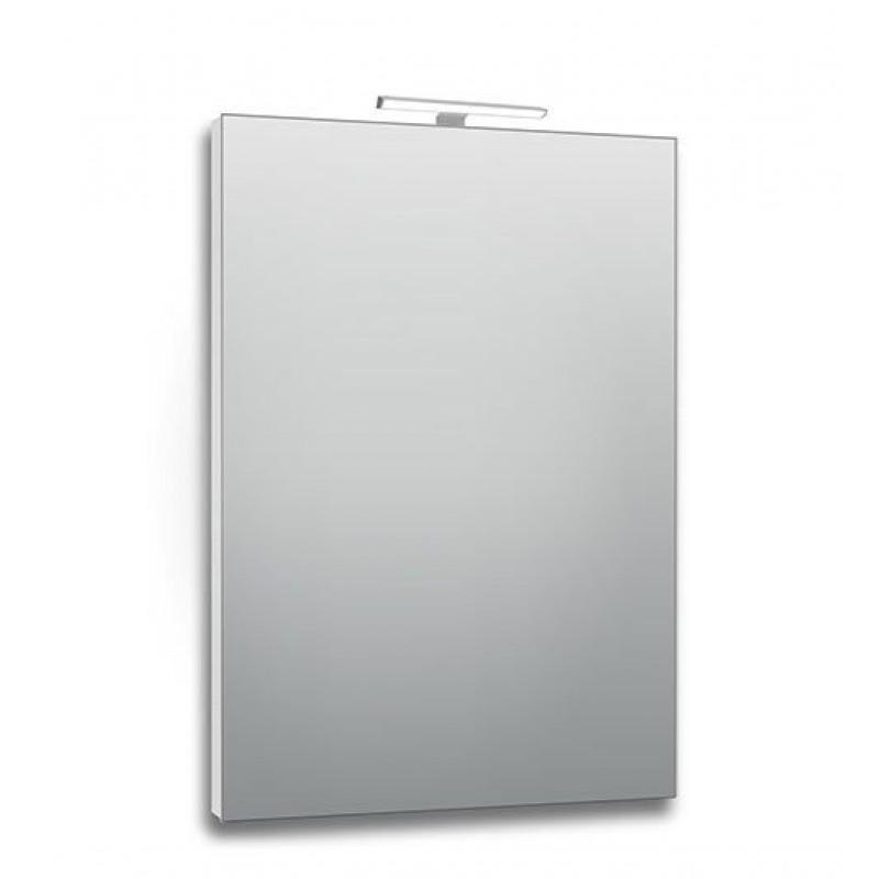 Specchio bagno 60x80 cm con lampada led san marco for Specchio da parete 180 cm