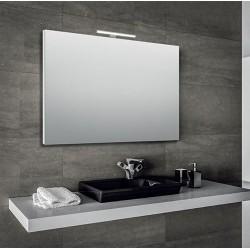 Specchio bagno 100x70 cm con lampada led