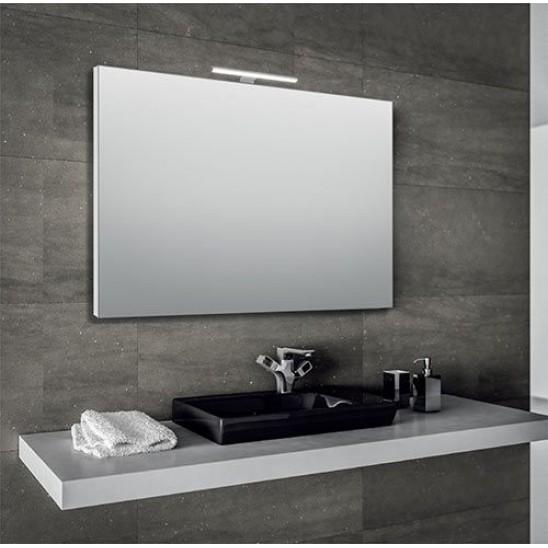 Specchio bagno 60x80 cm con lampada led  San Marco