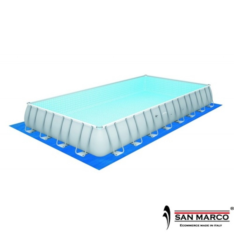 Piscina fuori terra frame 956x488x132cm bestway san marco for Piscine fuori terra best way