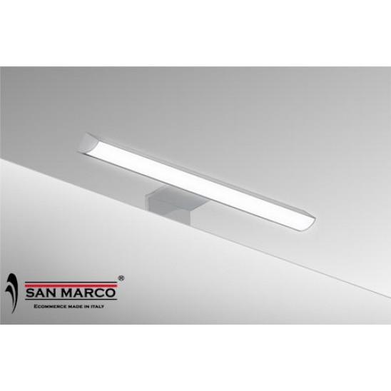 Faretto per specchio con lampada a led da 20 cm san marco for Delinia accessori