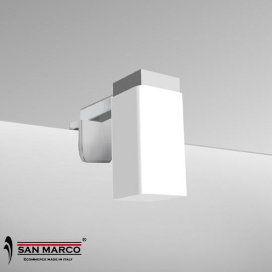 Faretto per specchio con lampada a LED da 20 cm | San Marco
