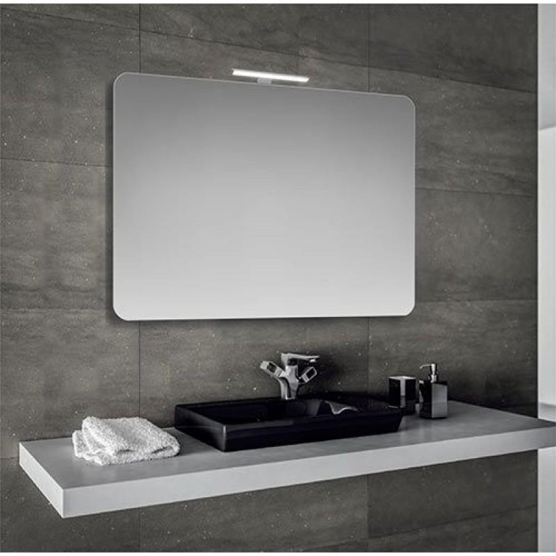 Specchio Bagno 90x60 Cm Con Lampada Led San Marco