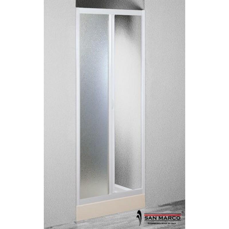 Porta per doccia a nicchia forte da 100 o 120 cm san marco - Porta per doccia a nicchia ...