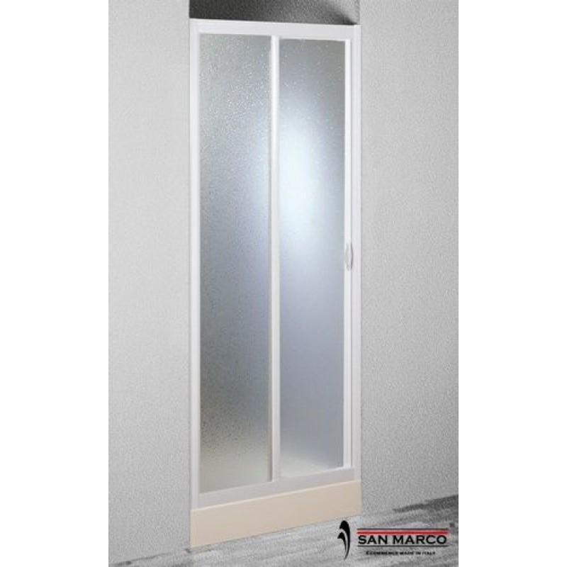 Porta per doccia a nicchia forte da 100 o 120 cm san marco - Porta per doccia ...