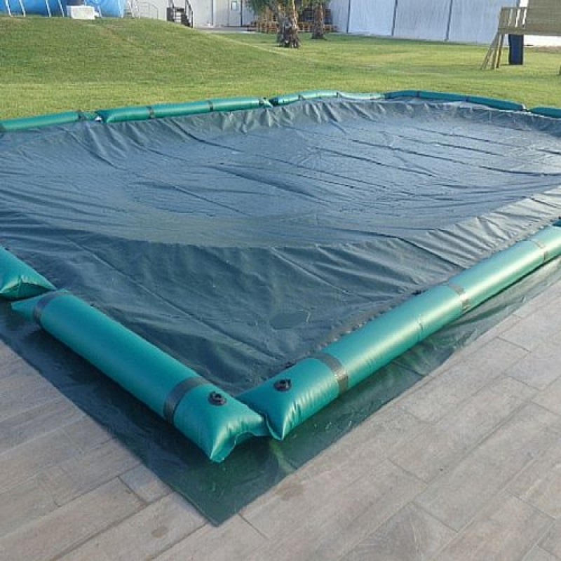 Telo invernale per piscine interrate 1030x500 cm san marco - Telo copertura piscina ...