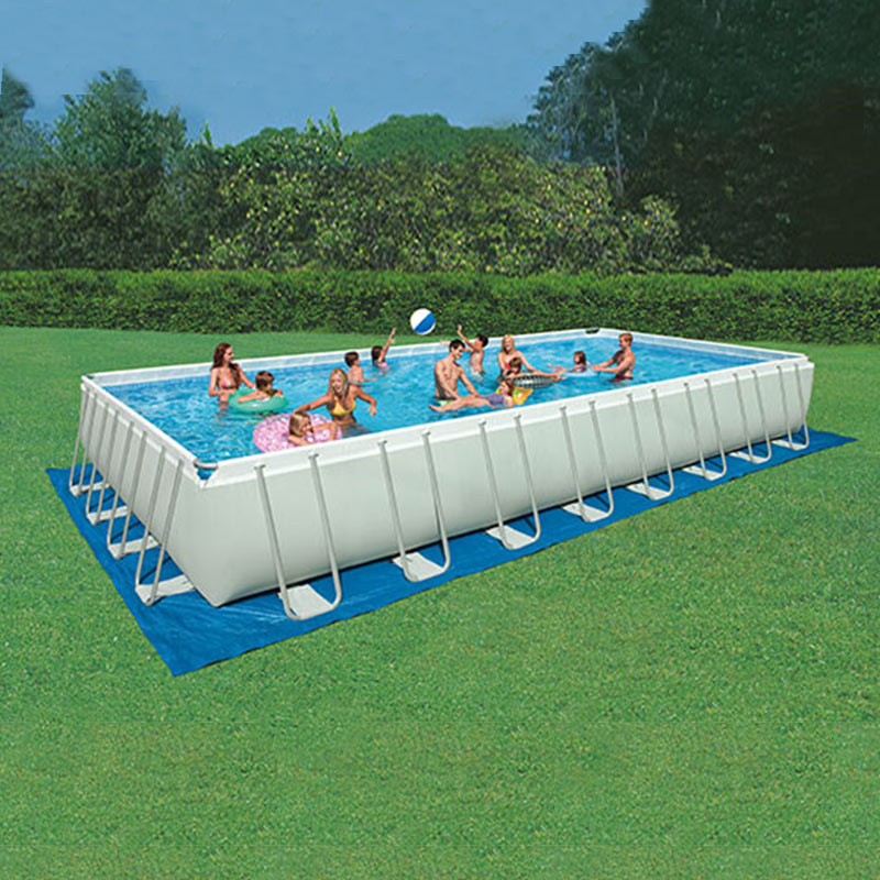 Piscina intex ultra frame 975x488x132 cm 28372 san marco - Intex piscine fuori terra ...