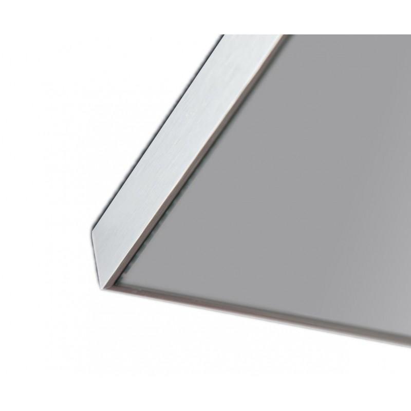 Specchio Su Misura Prezzo.Specchio Bagno Con Led E Cornice In Alluminio San Marco