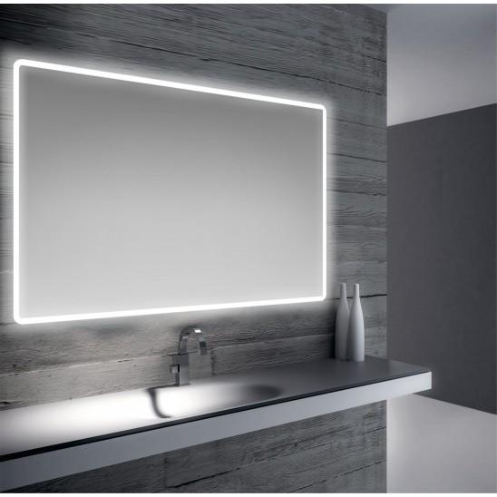 Specchio bagno retroilluimnato led 80x60 cm san marco for Specchio bagno retroilluminato