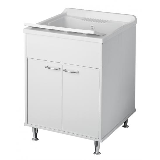 Mobile lavatoio orazio salvaspazio 55x35 cm san marco - Lavatoio esterno ...