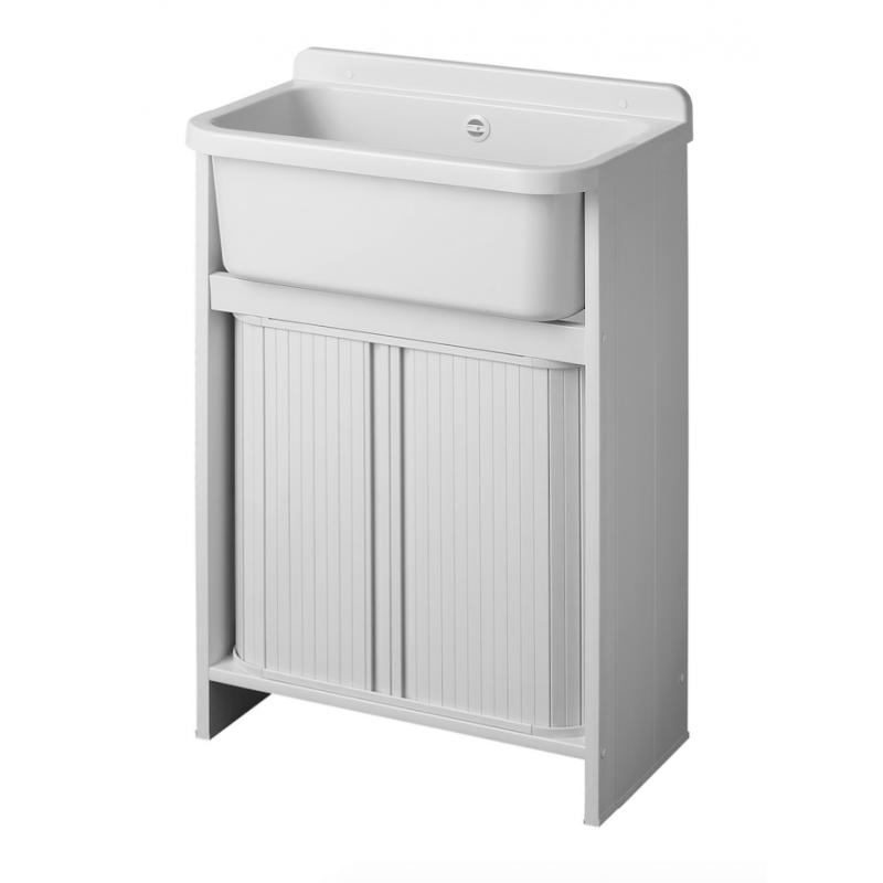 Mobile lavatoio orazio salvaspazio 55x35 cm san marco - Mobile lavatoio ...
