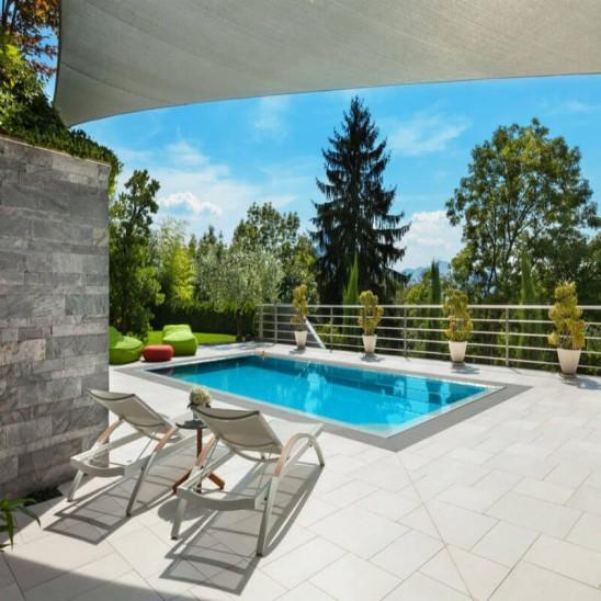 Piscina interrata san marco rettangolare 400x300x150 cm - Prezzo piscina interrata ...