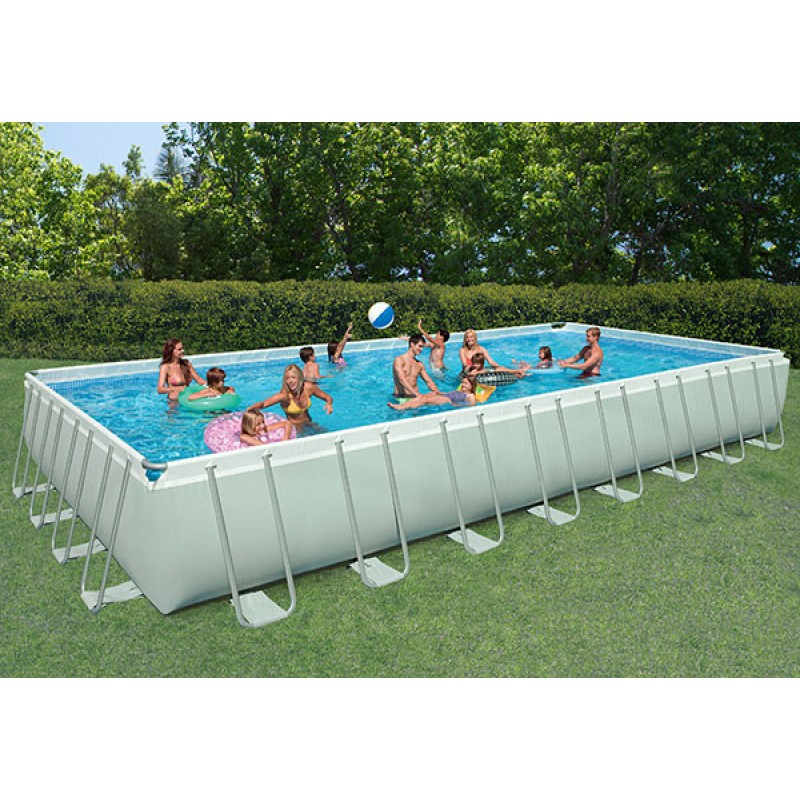 Piscina intex ultra frame 975x488x132 cm san marco for Piscina fuori terra oasi