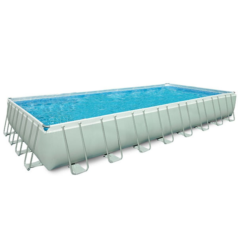 Piscina intex ultra frame 975x488x132 cm san marco for Filtro piscina intex