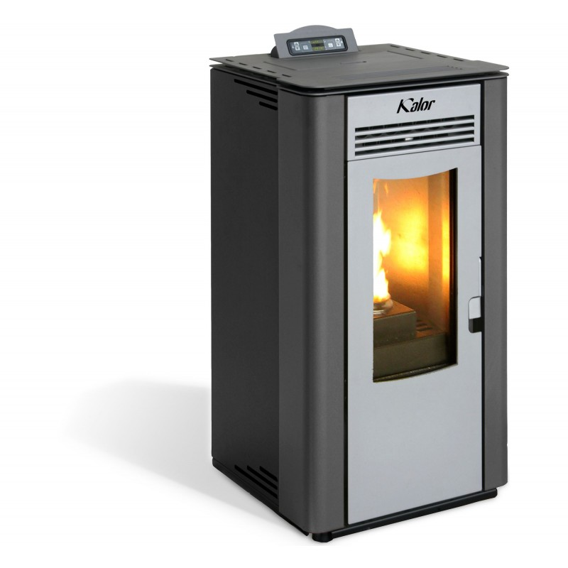 stufa a pellet lara da 10 kw per riscaldamento aria san