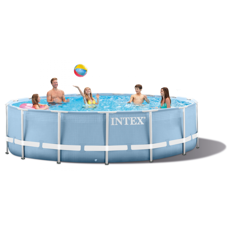 Piscina rotonda intex prisma 366 cm san marco for Piscina intex rotonda