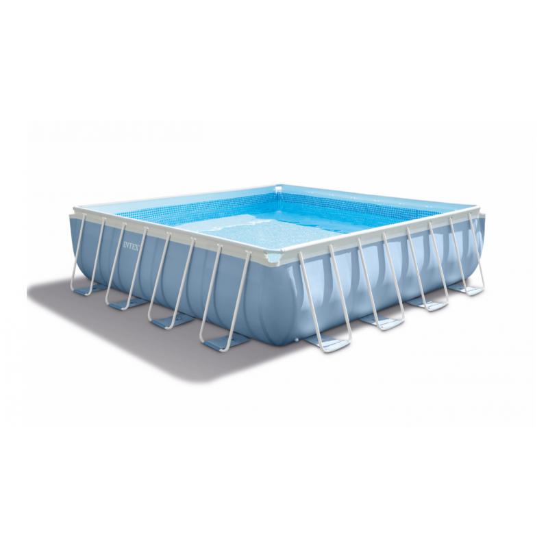 Piscina fuori terra intex square pools 488 x 488 san marco for Intex pool preisvergleich