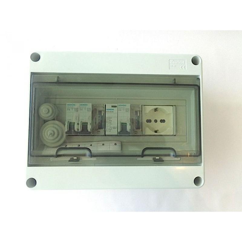 Schema Elettrico Per Piscina : Quadro elettrico preassemblato per piscine interrate fino a cv