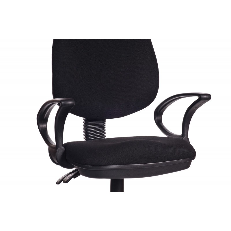 Sedia per ufficio direzionale in tessuto nero black sofa for Sedia ufficio black friday
