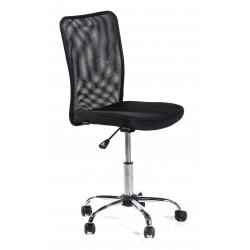 Sedia ufficio girevole Roger nera