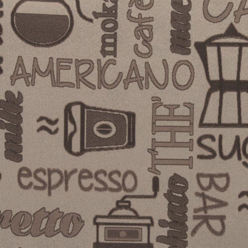 Passatoia da cucina antiscivolo su misura personalizzato caff san marco - Passatoia cucina antiscivolo ...