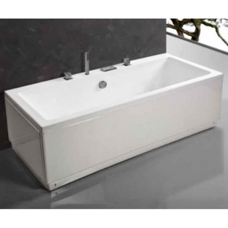Vasca da bagno moderna squadrata di design san marco - Togliere vasca da bagno ...