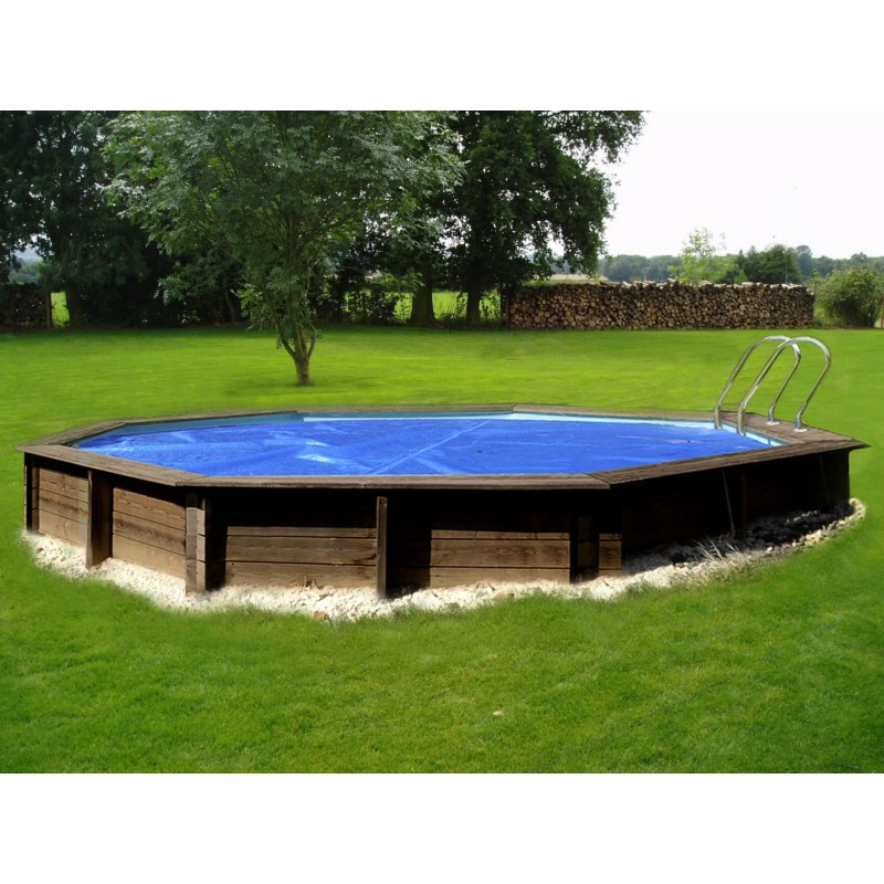 Copertura isotermica per piscina ovale 500x300 | San Marco