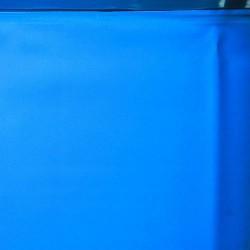 Liner blu per piscina ovale 500x350 h 120
