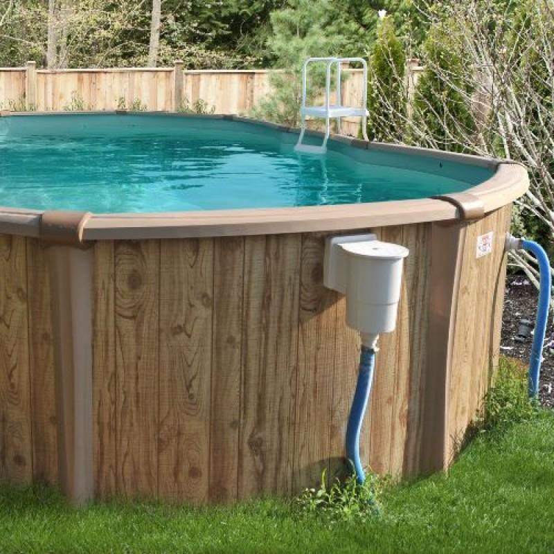 Liner overlap blu 75 100 per piscina tonda diam 460 h 120 san marco - Liner per piscine ...