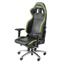 Poltrona ufficio racing Sparco r100s nero verde