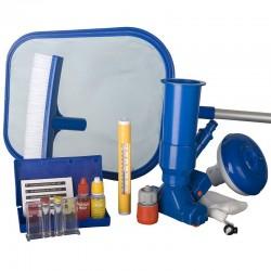 Kit pulizia piscina autoportante GRE e analisi acqua