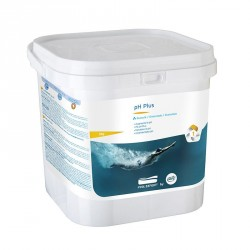 Composto granulare ph Plus da 5kg per aumentare pH della piscina
