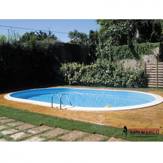 Piscina interrata Moorea 800x400 cm con scaletta easy