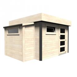 Casetta in legno rettangolare 369x300 cm Atollo