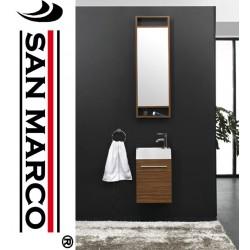Mobile bagno moderno con lavabo 40x22x62