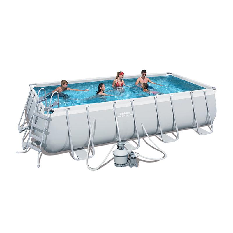 piscina fuori terra bestway frame 488x274x122 cm san marco