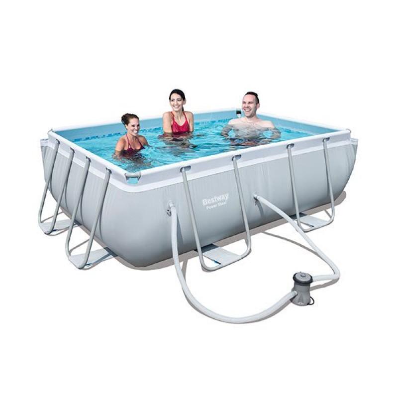 Mini piscina da giardino bestway completa di filtro san marco - Mini piscine da giardino ...