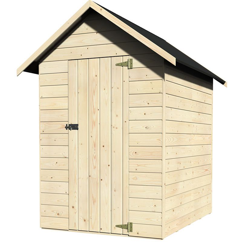 Casetta in legno samba rettangolare 122 4x162 cm san marco for Attrezzi piscina