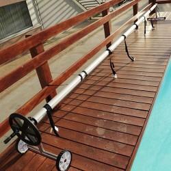 Rullo avvolgitore per piscine Interrate da 5,5 mt