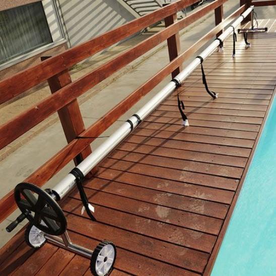 Telo copertura isotermico piscina ovale 795x395 cm san marco for Teli per piscine interrate